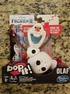 2018 Disney's Frozen 2 Bop It - Olaf Edition NIB VOICE OF OLAF FREE SHIP