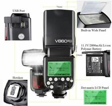 GODOX Ving V860II-N TTL Flash 2.4 G HSS 1/8000s con Li-on Batteria Flash x Nikon