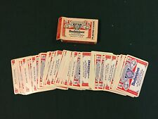 Vintage Budweiser Playing Cards. The Us Playing Card co. 350.
