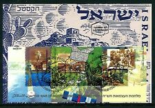Israel, 1328, Maxi cards, S/S, War of Independence, 1998