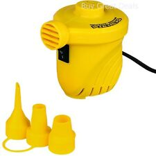 Portable Air Pump 12 V Pressure Car Inflates Tubes Rafts Ballons Ball Compressor