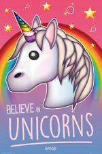 Emoji Believe in Unicorns (Bravado) MAXI POSTER SIZE 91 x 61cm GN0860
