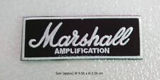 NEW MARSHALL EMBROIDERED IRON ON PATCH LOGO BADGE APPLIQUE