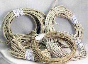 Pure Natural  Hemp Cord- HEMP TWINE   0.8MM -1MM- 2MM-3MM -4MM    Crafts-