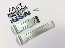 16mm fits Casio G-Shock Silver GA-110 and DW6900 Shinny Silver strap
