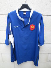 Maillot rugby QUINZE de FRANCE NIKE shirt XL manches courtes col rond