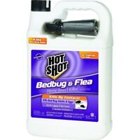 HOT SHOT Bed Bug, Eggs and Flea Killer 1 gallon Low Odor Insecticide Sprayer