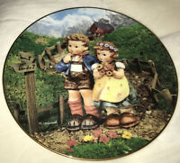 Vtg 1992 Limited Ed Hummel Little Companions Country Crossroads Collector...