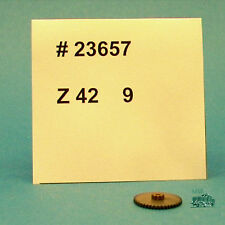 M&B Marklin Ho 23657 Cogwheel Z 42 9 beisatzrad