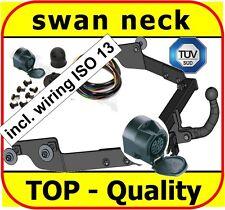 Towbar & Electric 13pin Citroen Berlingo Peugeot Partner 1996 - 2008 / swan neck