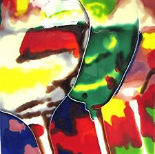 """Wine Art Tile """"Wine Glasses"""" 8x8 Wall Shelf Gift Home Office Vinyard Decor Gift"""
