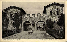 Bad Homburg vor der Höhe Postkarte ~1920/25 Saalburg Porta decumana ungelaufen
