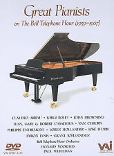 Great Pianists of The Bell Telephone Hour (Dvd, 2002)