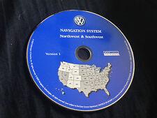 2004 VW VOLKSWAGEN TOUAREG NAVIGATION MAP DISC CD 2 NORTHWEST SOUTHWEST NW SW