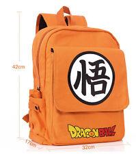 Dragon Ball Z anime backpack Orange square shoulder bag X'mas gift new