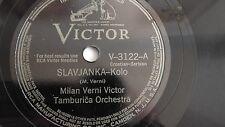 Milan Verni Victor Tamburica Orch. – 78rpm 10-inch – Victor #V-3122