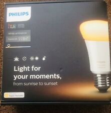 Philips Hue White  Ambiance Wireless Lighting LED Starter Kit