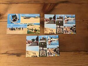 3 Postcards Of Hemsby On Sea  (023)