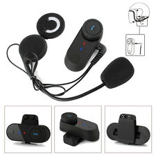 800M Motorrad Bluetooth Headset Helm Sprechanlage Gegensprechanlage FM Intercom