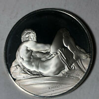 Day, The Genius of Michelangelo 1.26oz Sterling Silver Medal