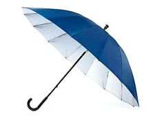 WINDPROOF UMBRELLA - PEACOCK BLUE - STURDY & DURABLE - BEAT THE WIND & STAY DRY