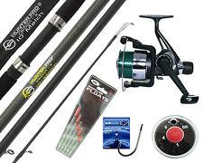 Complete Starter Beginners Fishing Kit Float Rod Reel tackle Set Fishing CARBON!