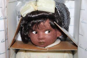 Vtg BOXED Cloth Doll DEBBIE RICHMOND Black Doll TINA lot j
