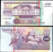 Billet de Banque - SURINAME - 100 Gulden - 1998 - NEUF UNC