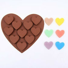 Heart Shaped Silicone Mould Chocolate Cake Candy Ice Mould DIY Kitchen Tools