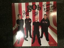 GOB  PUNK BAND SIGNED 12 X 12 POSTER ALL FOUR  PROMO FOOT IN MOUTH DISEASE
