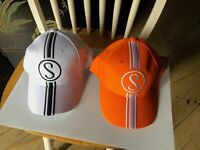 Cotton Picker & Orange Krate Bicycle Hats Schwinn Stingray Baseball Cap