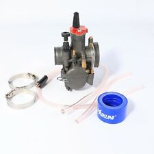 PWK 28mm Carburetor Motorcycle For Keihin Mikuni Dellorto Koso con Power Jet