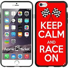 Keep calm and Race On For Iphone 6 Plus 5.5 Inch Case Cover By Atomic Market