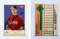 Brad Ausmus Signed 2005 Fleer Tradition #244 Card Houston Astros Auto Autograph