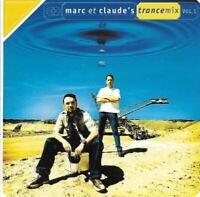MARC ET CLAUDE trancemix vol 1 (2X CD, compilation, mixed, 1999) trance, techno,