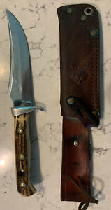Puma Skinner Genuine Pumaster Steel Germany Best. No. 6393 Knife with Sheath