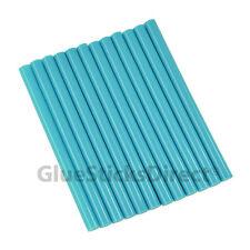 "GlueSticksDirect Neon Blue  Glue Stick mini X 4"" 12 sticks"
