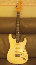 1983 JV Fender Squier 70s style Made in Japan SQ series. Clean vintage case.