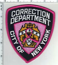 Breast Cancer Awarness New York City Corrections Patch (may be worn in October)