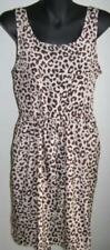 Animal Print Polyester Casual Dresses for Women