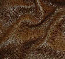 61 sf. 3oz Brown Edelman Scotchgrain Upholstery Leather Hide Skin B29p qr