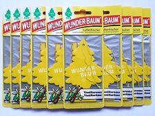 (1,20€/Einheit) 25 Stück WUNDER-BAUM® Vanille Duftbaum Lufterfrischer Auto Duft