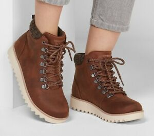 BOBS By SKECHERS 'Mountain Kiss' Leather Boots -  5.5 (38.5)- NEW (Other)
