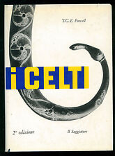 POWELL T.G.E. I CELTI IL SAGGIATORE 1961 UOMO E MITO 6