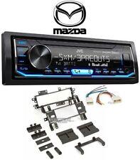 JVC KD-X360BTS Single DIN Car In-Dash Digital Media Receiver for 96 Mazda MX-3