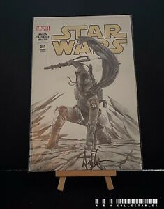 Marvel Star Wars Issue 1 Signed Variant  (2015) Bagged & Boarded