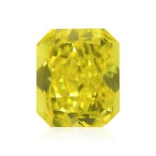 Yellow Diamond  - 1.11ct Natural Loose Fancy Vivid Yellow Canary GIA VS2 Radiant