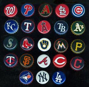 2016 Miller Lite MLB TEAM Logo Baseball Beer BOTTLE Cap SEE LIST