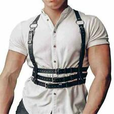 Men's Leather Harness Belts