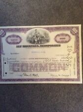 ACF Industries 1975 100 Shares INVALID SHARE CERTIFICATE
